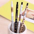 91.55 руб. 40% СКИДКА|4 шт/лот Мода 0,5 мм авторучка милый черный и белый горошек пластиковый механический карандаш для студентов обучения письма-in Механические карандаши from Офисные и школьные принадлежности on Aliexpress.com | Alibaba Group