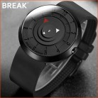 US $17.88 35% OFF|BREAK Minimalist Luxury Brand Watch Men Women Black Waterproof Fashion Casual Military Quartz Sports Watches-in Quartz Watches from Watches on Aliexpress.com | Alibaba Group