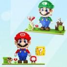 Конструктор Mario два цвета на выбор коробка упаковка блоки игрушка 2000 шт