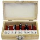 Купить Набор фрез КАЛИБР 0504 (8 mm, 5 шт) по низкой цене с доставкой из маркетплейса Беру