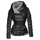 € 26.51 52% de réduction|2019 hiver manteaux femmes Parkas coton chaud épais court veste manteau avec ceinture Slim décontracté zipper gothique noir survêtement pardessus-in Parkas from Mode Femme et Accessoires on Aliexpress.com | Alibaba Group