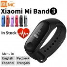 US $24.99 20% OFF| Origina Xiaomi Mi Band 3 Smart Wristband Fitness Bracelet MiBand Band 3 Big Touch Screen OLED Message Heart Rate Time Smartband-in Smart Wristbands from Consumer Electronics on Aliexpress.com | Alibaba Group