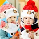 319.22 руб. 15% СКИДКА|Теплые зимние детские шапочки вязанная шапка ушанка и шарф, комплект из 2 предметов, Повседневные детские теплые шапочки шапочки, теплые шапки, детские шапки для девочек и мальчиков-in Шапки и кепки from Мать и ребенок on Aliexpress.com | Alibaba Group