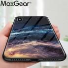 152.01 руб. 36% СКИДКА|MaxGear звезда пространство закаленное Стекло чехол для iPhone X 8 7 Plus 6 6 S Мягкий край кожного покрова Стекло тонкий Капа для iPhone6S XR XS Max купить на AliExpress