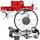 29803.0 руб. 60% СКИДКА|36 V 250 w/350 w/500 w электродвигатель для скутера колеса 36 V 10A/12A samsung электрический велосипед с батареей конверсионный комплект для 20