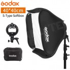 "US $51.13 |Godox 40x40 cm 15"" * 15"" Softbox Soft Box with S Type Bracket Holder + Carry Bag for Yongnuo Godox Flash TRIOPO Speedlite Strobe-in Softbox from Consumer Electronics on Aliexpress.com 