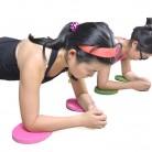 US $2.28 24% OFF|Nieuwe Pack van 2 Plank Workout Knie Pad Kussen Ronde Foam Yoga Elimineren Knie Pols Elleboog Pijn Oefening Matten-in Yogamatten van sport & Entertainment op Aliexpress.com | Alibaba Groep