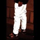 2030.89 руб. |Лидер продаж! bboy новинка 2015 зима Марка Повседневная мода мешковатые в стиле хип хоп с заниженным шаговым швом мужская одежда 3 м светоотражающие Jogger Штаны брюки купить на AliExpress