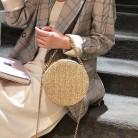 302.45руб. 30% СКИДКА|AIZHIYI тканая сумка женская летняя ротанговая сумка ручной работы пляжная круглая богемная Сумка круглая соломенная сумка женская сумка на молнии bolso-in Сумки с ручками from Багаж и сумки on AliExpress - 11.11_Double 11_Singles' Day