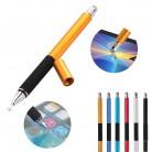 103.36 руб. 25% СКИДКА|2 в 1 многофункциональная тонкая круглая тонкий конец ручка с сенсорным экраном емкостный стилус ручка для смартфона планшета для iPad для iPhone-in Стилусы для планшетов from Компьютер и офис on Aliexpress.com | Alibaba Group