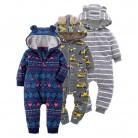 683.73 руб. 24% СКИДКА|Детские комбинезоны для новорожденных с хлопковой подкладкой; комплект теплой одежды для девочек; осенняя одежда с капюшоном для малышей; унисекс; Комбинезоны для младенцев-in Ромперы from Мать и ребенок on Aliexpress.com | Alibaba Group