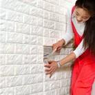 98.14 руб. 36% СКИДКА|Украшение дома наклейки на стену Самоклеящиеся 3D обои для детской комнаты детские наклейки украшения Декор для домашнего интерьера купить на AliExpress