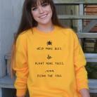 € 13.57 30% de DESCUENTO|Save More Bees Sweatshirt mujeres planta más árboles Causal Sudadera con capucha de gran tamaño limpiar el mar jerseys amarillo Hoodies Drop Ship Gai-in Sudaderas con capucha y sudaderas from Ropa de mujer on Aliexpress.com | Alibaba Group