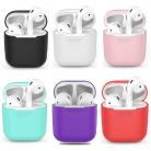 31.89 руб. 42% СКИДКА|1 шт. ТПУ Силиконовые Bluetooth беспроводные наушники чехол для AirPods защитный чехол Аксессуары для кожи для Apple Airpods зарядная коробка купить на AliExpress