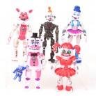 817.02 руб. 30% СКИДКА|5 шт./компл. FNAF Five Nights At Freddys Freddy Toys Bonnie Foxy Fazbear Bear ПВХ подвижные фигурки игрушки 12 15 см-in Трансформеры и игрушки from Игрушки и хобби on Aliexpress.com | Alibaba Group