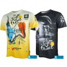 US $13.42 15% OFF|Tour de France men cycling bike bicycle quick dry breathable jerseys shirts short sleeves jerseys-in Cycling Jerseys from Sports & Entertainment on Aliexpress.com | Alibaba Group