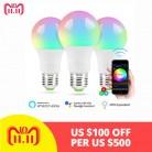 425.94 руб. 35% СКИДКА|Новый E27 Smart WI FI лампы RGBW затемнения светодио дный лампочка, магия Bluetooth 4,0 Smart лампы освещения пробуждения, для домашнего отеля купить на AliExpress