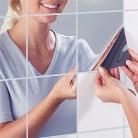164.85 руб. 50% СКИДКА|9 шт./компл. зеркальные наклейки на стену самоклеющиеся плитки зеркальные наклейки 3D зеркальные настенные художественный Декор для дома настенные наклейки-in Обои from Товары для дома on Aliexpress.com | Alibaba Group
