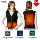 2044.52 руб. |PINJIA Для женщин жилет с подогревом открытый Электрический Термальность одежда жилет для USB инфракрасный тепловой жилет куртка (SV01) купить на AliExpress