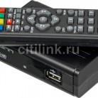 Купить Ресивер DVB-T2 DENN DDT131,  черный в интернет-магазине СИТИЛИНК, цена на Ресивер DVB-T2 DENN DDT131,  черный (1109622) - Москва