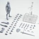 Оригинальная фигурка KUN Takarai Rihito BODY CHAN Mange, рисунок DX BJD бледно-оранжевый и ПВХ серого цвета, Коллекционная модель игрушки