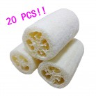 2018  20pcs New Fashion New Natural Loofah Bath Body Shower Sponge Scrubber Pad Hot With High Quality Hot Sale #30-in Bath Brushes, Sponges & Scrubbers from Home & Garden on Aliexpress.com | Alibaba Group
