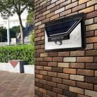 817.71 руб. 30% СКИДКА|Finether 30 светодиодов солнечный свет стены ИК & Light Сенсор Беспроводной открытый IP65 Водонепроницаемый безопасности освещения для двери купить на AliExpress