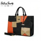 2051.19 руб. 32% СКИДКА|Женская сумка дизайнерские сумки высокого качества женские сумки женская сумка шоппер в стиле пэчворк Saffiano металлическая подвеска женская сумка большая | SY2136-in Сумки с ручками from Багаж и сумки on Aliexpress.com | Alibaba Group