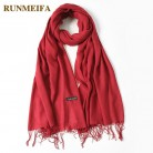 US $3.76 24% OFF|2019 fashion summer women scarf thin shawls and wraps lady solid female hijab stoles long cashmere pashmina foulard head scarves-in Women's Scarves from Apparel Accessories on Aliexpress.com | Alibaba Group