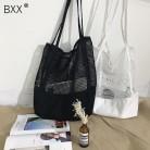 517.37руб. 16% СКИДКА|[BXX] Новинка 2019, женская сумка с узором, сетчатая, открытая, песчаный пляж, посылка, большая вместительность, сумка на одно плечо DA129-in Сумки с ручками from Багаж и сумки on AliExpress - 11.11_Double 11_Singles' Day