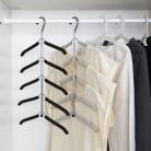 582.33руб. 20% СКИДКА|Вешалка для одежды, многофункциональная вешалка для одежды, бесшовная противоскользящая вешалка для одежды, домашняя многослойная одежда-in Вешалки и крючки from Дом и животные on AliExpress - 11.11_Double 11_Singles' Day