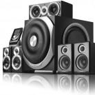 Колонки EDIFIER S760D,  5.1,  черный, отзывы владельцев в интернет-магазине СИТИЛИНК (498659) - Москва