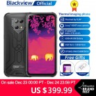 US $399.99 20% OFF Blackview BV9800 Pro Global First Thermal imaging Smartphone Helio P70 Android 9.0 6GB+128GB Waterproof 6580mAh Mobile Phone on AliExpress