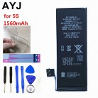 US $10.61 41% OFF|AYJ 1Piece Brand New AAAAA Quality Phone Battery for iPhone 5S 5C High Real Capacity 1560mah Zero Cycle Free Tool Sticker Kit-in Mobile Phone Batteries from Cellphones & Telecommunications on Aliexpress.com | Alibaba Group