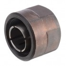 """1pc 1/2"""" Collet Nut Plunge Router Parts Black Metal 22.5x27mm with High Hardness For Makita 3612"""