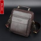 2044.52 руб. 40% СКИДКА|Горячая Распродажа 2016 для мужчин's курьерские Сумки 100% Натуральная кожаные сумочки известный бренд мужчин модные повседневное сумки на плечо купить на AliExpress