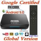 2634.86 руб. 26% СКИДКА|Google сертифицированных MECOOL ТВ Box Android 9,0 KM9 PRO Android ТВ 9,0 4 GB Оперативная память 32 GB Amlogic S905X2 4 K голос 2,4G 5G Wi Fi BT4.0 KM9 A ТВ-in ТВ-приставки from Бытовая электроника on Aliexpress.com | Alibaba Group