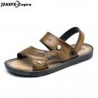 2019 Men's Sandals Open Toe Slip On Fashion Casual Shoes Men Men Slippers Roman Summer Beach Sandals