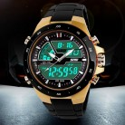 711.34 руб. 37% СКИДКА|50 м водонепроницаемые мужские спортивные часы Relogio Masculino 2018 Горячие мужские силиконовые спортивные часы Reloj s противоударные электронные наручные часы-in Спортивные часы from Ручные часы on Aliexpress.com | Alibaba Group