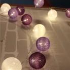 711.71 руб. |Лавандовый цвет серии ватный шар струнный свет на Рождество праздник стол орнамент свет лампы 3 м светодио дный светодиодные полосы дома спальня декоративные гирлянды-in Гирлянды светодиодные from Лампы и освещение on Aliexpress.com | Alibaba Group