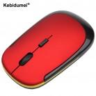 162.2 руб. 29% СКИДКА|Kebidumei 2016 оптовая продажа USB беспроводной 2,4g мышь Оптический мыши Компьютерные для компьютера PC продвижение купить на AliExpress