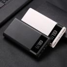 Портативный двойной USB DIY внешний аккумулятор чехол 6x18650 батарея светодиодный светильник зарядка цифровой дисплей внешний аккумулятор Комп...