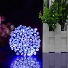 193.63 руб. 40% СКИДКА|22 м 200 светодиодный солнечный Сказочный светильник Рождественская уличная гирлянда светодиодный полосный светильник Открытый водонепроницаемый для сада лампа для свадьбы-in Осветительные гирлянды from Лампы и освещение on Aliexpress.com | Alibaba Group