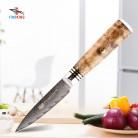 1769.19 руб. 49% СКИДКА|FINDKING AUS 10 Дамаск стальная стрела узор Sapele деревянная ручка дамасский нож 3,5 дюймов нож для очистки овощей 67 слоев фруктовые ножи купить на AliExpress