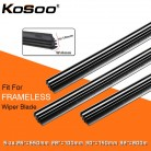 US $1.91 29% OFF|KOSOO 2PCS Vehicle Windshield Insert Natural Rubber Car Wiper Blade Strip (Refill) 6mm 26