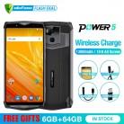 49257.95 руб. 25% СКИДКА|Ulefone Power 5 13000 мАч 4G смартфон 6,0
