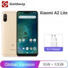 8151.48 руб. |Глобальная версия Xiaomi Mi A2 Lite, 3 Гб оперативной памяти, Оперативная память 32 GB Встроенная память Мобильный телефон Snapdragon 625 Octa Core 5,84