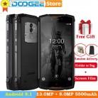 DOOGEE S55 Lite IP68 Водонепроницаемый телефон Android 8,1 2 ГБ 16 ГБ 5500 мАч MTK6750T 5,5 две сим карты 13.0MP смартфон с функцией разблокировки отпечатком пальца купить на AliExpress