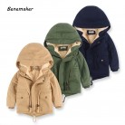 US $12.99 35% OFF|Benemaker Children Winter Outdoor Fleece Jackets For Boys Clothing Hooded Warm Outerwear Windbreaker Baby Kids Thin Coats YJ023-in Jackets & Coats from Mother & Kids on Aliexpress.com | Alibaba Group