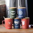 US $10.68 |1 pc Fashion Super Hero Iron man and Captain America Spiderman Ceramic Mugs Creative Deadpool Hulk Mug Cartoon The Avengers Cup-in Mugs from Home & Garden on Aliexpress.com | Alibaba Group